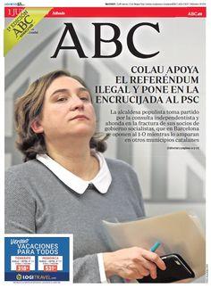 La portada de ABC del sábado 1 de julio