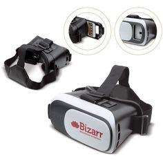 2191d6cb0bff7b Virtual Reality bril met schuif waar de smartphone ingeschoven kan worden.  De lens is verticaal en horizontaal verstelbaar waardoor hij super scherp  te ...