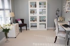 "beautiful, calm and organized... future ""girl-cave"" / walk in closet."