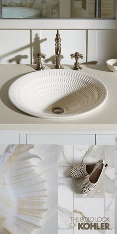Choose A Bathroom Sink As Eye Catching Your Street Style Decorative Architecture And Moorish Define Kohler S Artist Editions Persia