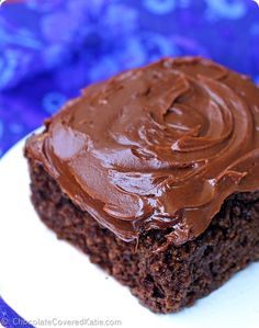 Healthy Chocolate Cake no oil, and can be sugar free chocolatecoveredk...