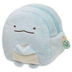 NEW San-X Sumikkogurashi Sumikko Plush Pouch Stuffed Tokage House Kawaii Japan