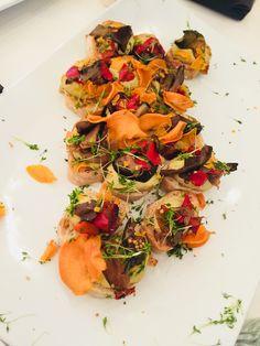 Zuckerfreie Gemüse Sandwiches auf der Fashionweek