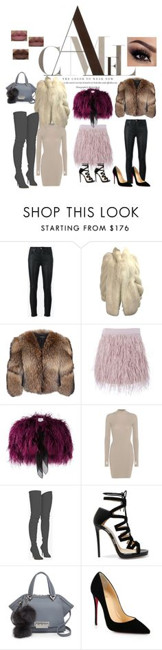 """FurGalicious"" by dstyler ❤ liked on Polyvore featuring Yves Saint Laurent, Adrienne Landau, SuperTrash, Daizy Shely, adidas Originals, Balmain, Jimmy Choo, ZAC Zac Posen, Christian Louboutin and Kylie Cosmetics"