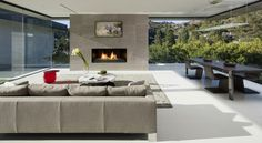 Sunset Strip is a project located in California, USA, and completed by McClean Design. The home has bright open spaces with lots of natural light.