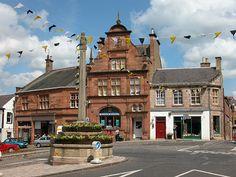Melrose, Scotland to walk in my ancestors' steps