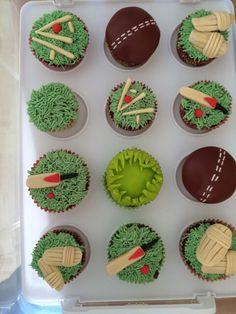 Cricket Cake, Cake Craft, Theme Cakes, Birthday Bash, Tea, Sports, Desserts, Crafts, Food