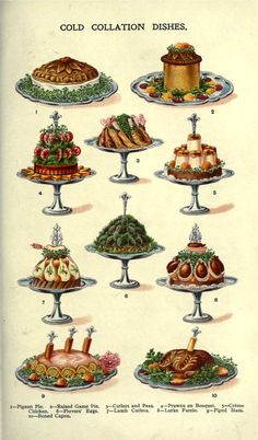 → Strange & mysterious meat dishes. From Mrs. Beeton's Household Management 1907
