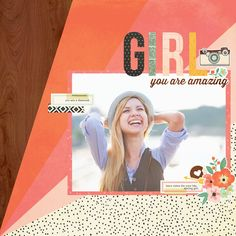 Simple Stories's Gallery: NEW! Simple Stories The Reset Girl!