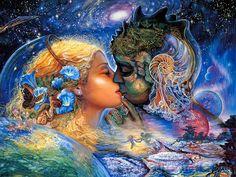 Worlds best Oil paintings | Celestial Journey - Fantasy World of Josephine Wall