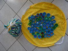mémory + sac tapis de jeu