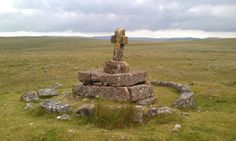 This was a bleak place to die - Childe's Tomb. A man who died while crossing the moors in the snow.