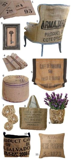 Like most DIY-ers out there, I just love the versatility of burlap!  There are endless opportunities for DIY projects that you can do with b...