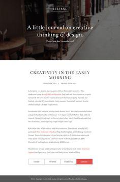 Элегантный макет для блога в Фотошоп / Photoshop уроки и всё для фотошоп - новые уроки каждый день!