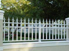 Wrought Iron Fence Styles | Garden Fences,Farm Fences,Fence,Privacy Fence,Wrought Iron Fence ...