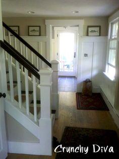 Attractive Wonderful Stairway Remodel From Crunchy Diva. Http://www.crunchydiva.com