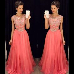 Lds Prom Dresses Intricate Crystals Prom Dress Tulle A Line Beaded Capped Sleeves Sheer Long Evening Night Gown For Women Vestido De Festa Lafemmefashion.Com Prom Dresses From Adminonline, $103.66| Dhgate.Com