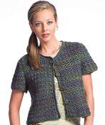 Little Crochet Jacket | AllFreeCrochet.com