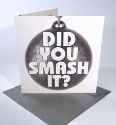 """""""Did you smash it? You definitely smashed it! Birthday Cards, Football, Bday Cards, Soccer, Futbol, American Football, Birthday Greetings, Anniversary Cards"""