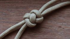 Knot tying video tutorial. Learn how to make a two strand crown and diamond knot with paracord. Easy step by step instructions in this guide. This attractive...