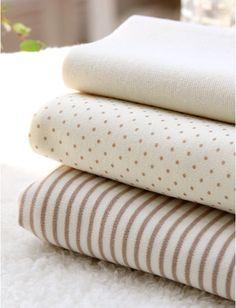 half metre or metre IVORY TAN POLKA DOT 100/% cotton fabric  per FQ