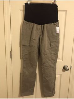 bcdcdc7996d9f Old Navy Tan Maternity cargo Pants Size 14 NWT #fashion #clothing #shoes #
