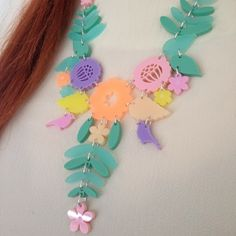 Tassel Necklace, Crochet Necklace, Mexican Embroidery, Tatty Devine, Pretty Outfits, Pretty Clothes, Diy Hacks, Plexus Products, Get The Look