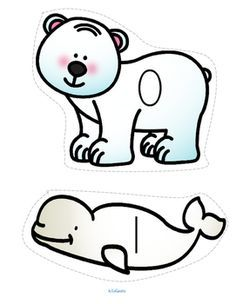 ***FREE*** This is a set of Arctic animals, numbered