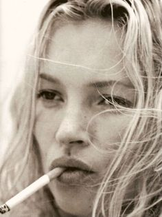 kate moss photographed by bruce weber for vogue hommes international s/s 2006 supplement