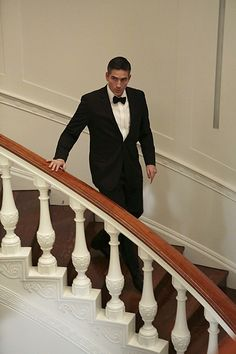 17. He deserves a slow motion entrance | 18 Times Reese Was The Best Dressed Man In The Room