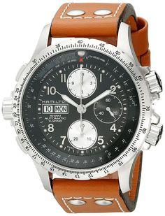 Hamilton H77616533 - Reloj de hombre automático negro