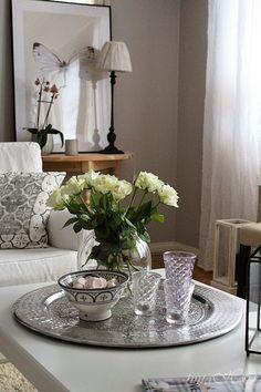 ) - Sisustuskuvia jäseneltä Tiina-H - StyleRoom Christmas Decorations, Table Decorations, My House, Table Settings, Vase, Living Room, Interior Design, House Styles, Furniture