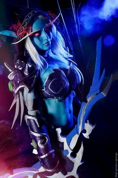 Awesome World of Warcraft Sylvanas cosplay
