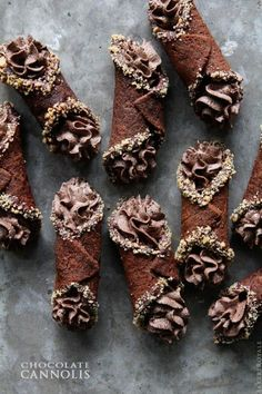 Chocolate Cannoli | Bakers Royale