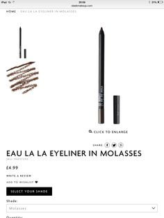 My Sister told me about this liner. I have it in Noir, I love black eyeliner, has been my staple makeup routine since I was 15.