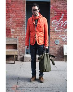 favorite look from @GQ Magazine's latest edition of street style.
