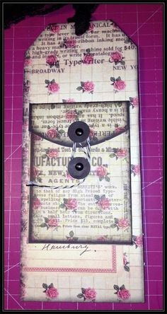 back of Prima Doll tag