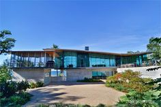 MAGNIFICENT CONTEMPORARY HOME ABOVE LAKE MICHIGAN  |  Beverly Shores, IN  |  Luxury Portfolio International Member - STATELY NEWER CONSTRUCTION HOME  |  Chicago, IL  |  Luxury Portfolio International Member - @ properties