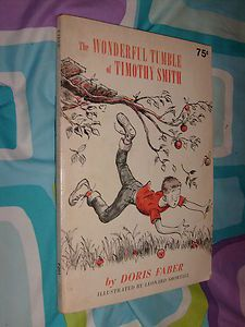 The Wonderful Tumble of Timothy Smith by Doris Faber 1958