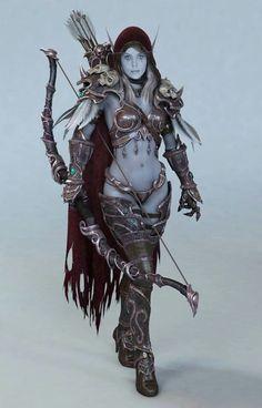 dark elf cosplay Amazing armor.