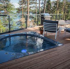 Frontpage - Drop Design Pool Outdoor Spa, Outdoor Decor, Jacuzzi, Backyard, Patio, Drops Design, Sunroom, Luxury, Porches