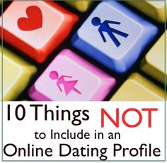 Online dating profile interests