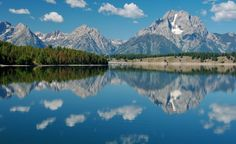 Another perspective of the Grand Tetons from across Jackson Lake.  (Courtesy Dave Bezaire & Susi Havens-Bezaire/Flickr) From: 8 Perfect Summer Lake Towns.