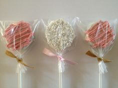 Place an Order Today! OpaPops.com #pink #gold #chocolate #oreo #pops #favors #gifts #bridal #shower #babyshower #bridetobe #wedding #sparkle #sprinkles #sugar #sweet #opapops #ribbon #candy #baking #cakepop #yum #foodie #Christmas #holidays #happyholidays #flower
