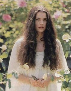 Julia Ormond in Legends of the Fall.  One of the most tragic movies I've ever seen, but Brad was HOT!