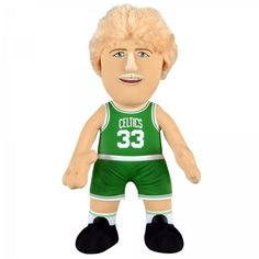 "NBA Player 10"" Plush Figure Celtics Bird 