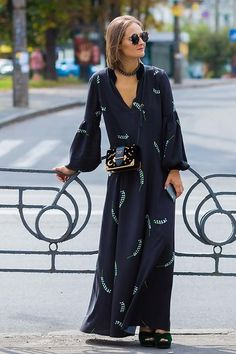 See more street style from Kiev Fashion Week. Photographed by Photographed by Acielle / Style du Monde.