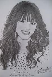 drawing of bella thorne - Google Search