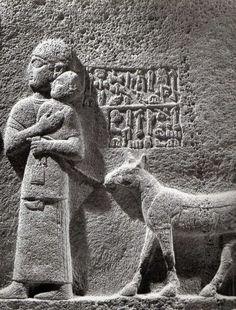 Hittite, baby- sitter, Karkamış- Cerablus, 1180-700 BC, Museum of Anatolian Civilisations, Ankara