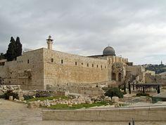 Mesquita de Al-Aqsa – local onde se estabeleceram os Templários, em Jerusalém.